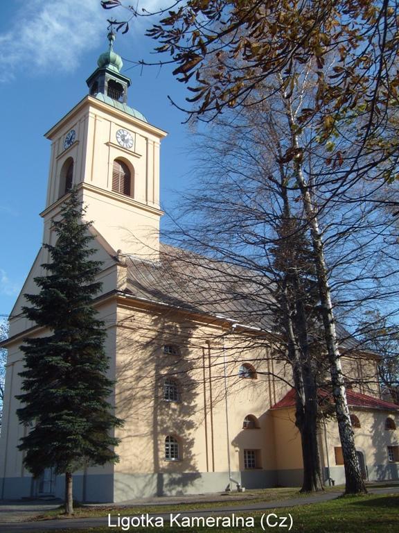 Kościół wLigotce Kameralnej