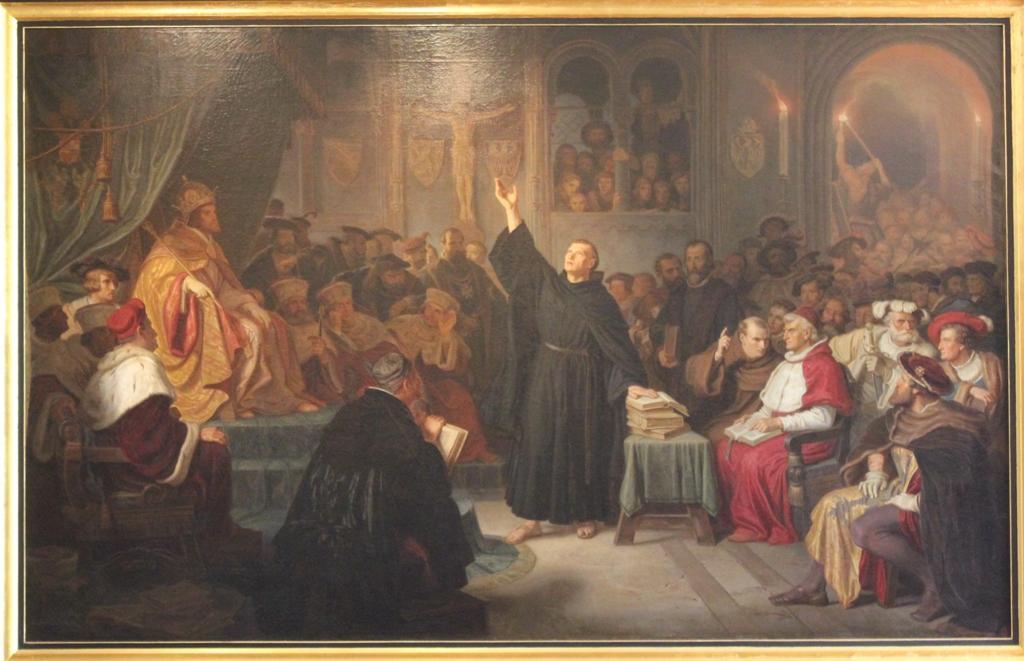 Luter nasejmie wWormacji